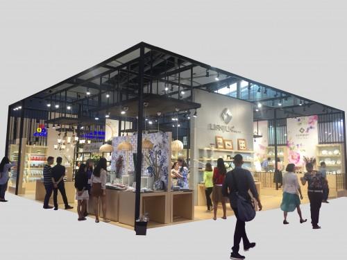 绿色展位潮州市宝莲陶瓷有限公司  108C10011L