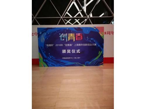 """'临港杯""""2018年""""创青春""""上海青年创新创业大赛颁奖仪式"""