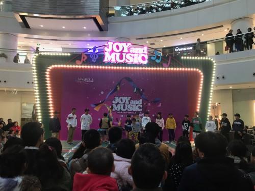 JOY and MUSIC商场活动