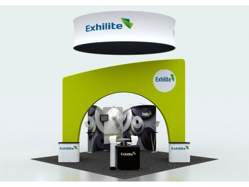 绿色展位Exhilite36D10053L